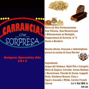 CasaParrini - Carrancia che sorpresa