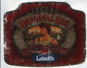 Labatt's Original Red