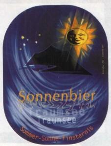 Sonnenbier Traunsee Eggenberger