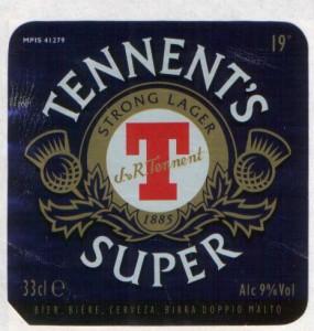Tennent's Super 1