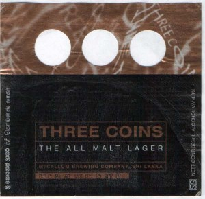 Three Coins Lager
